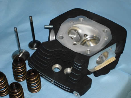 Twin Cam Head Porting Packages at HD Street Performance Head Porting